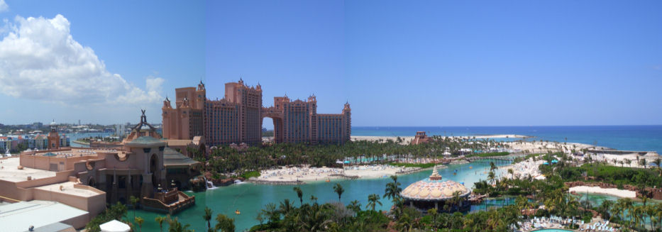 View from our hotel room - Click to see more pictures of Paradise Island